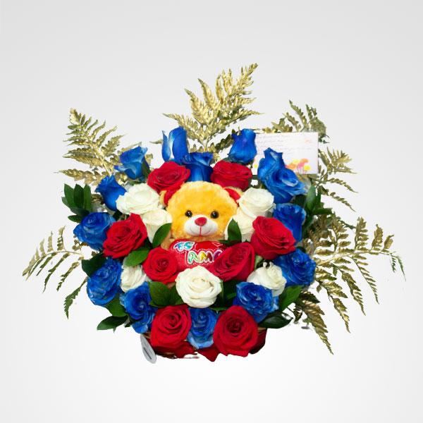 arreglo de flores corazon salvaje floreria bogota