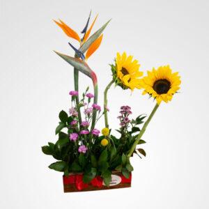 arreglo grande amor en flor floristeria bogota