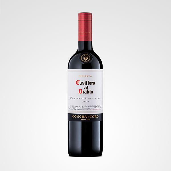 botella de vino casillero del diablo floreria bogota