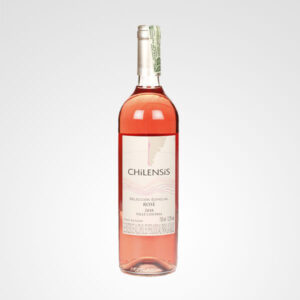 botella de vino chilensis rose floreria bogota