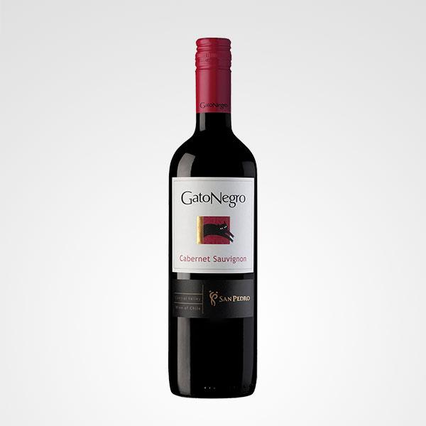 botella de vino gato negro cabernet sauvignon floreria bogota