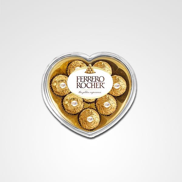 chocolates ferrero rocher corazon floreria bogota