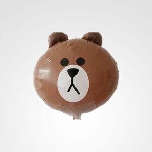 globo cara de oso floristeria bogota