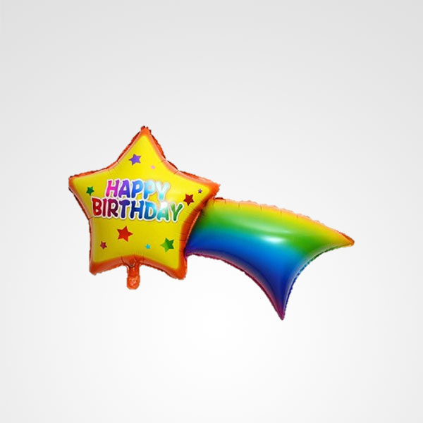 globo happy birthday estrella floreria bogota