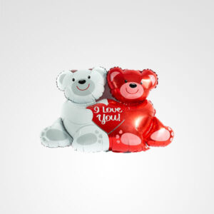 globo osos i love you te amo floreria bogota