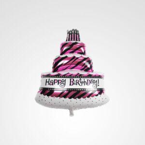 globo pastel happy birthday floreria bogota