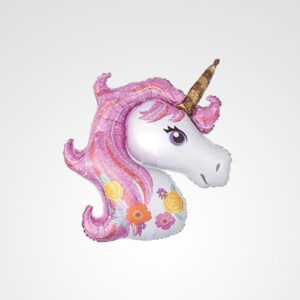 globo unicornio floreria bogota
