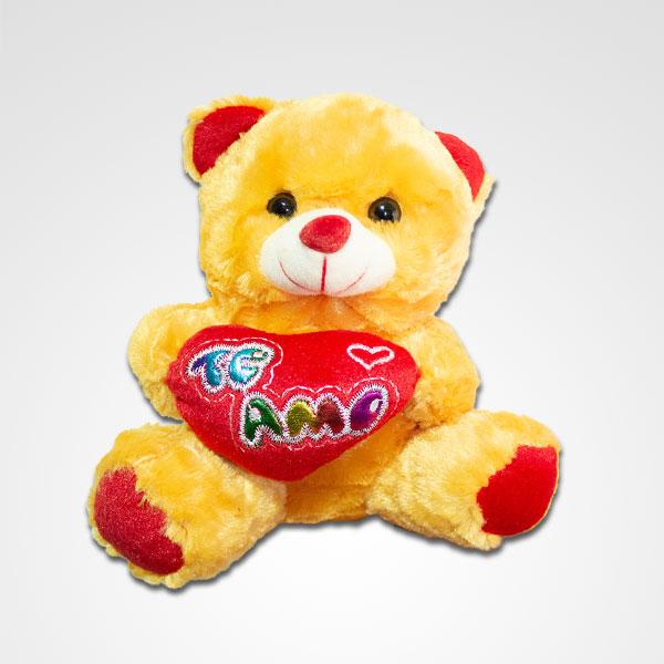 oso de peluche te amo floreria bogota