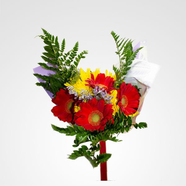 ramo multicolor floreria bogota