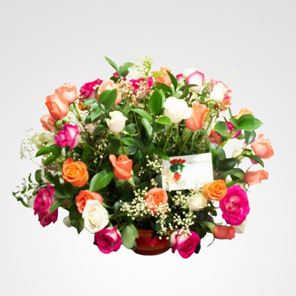 arreglo de rosas floreria bogota